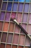 Composição colorida e aplicador Foto de Stock Royalty Free