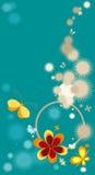 Composição com flores Fotografia de Stock