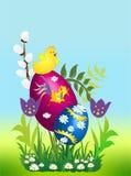 Composição de Easter, Fotos de Stock