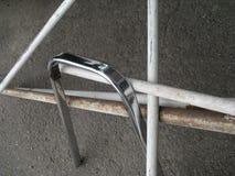 Composição com tubulações do ferro Fotos de Stock