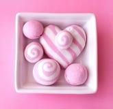 Composição cor-de-rosa Fotos de Stock Royalty Free