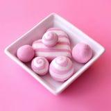 Composição cor-de-rosa Fotografia de Stock Royalty Free