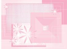 Composição cor-de-rosa Ilustração do Vetor