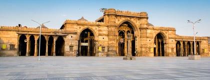 Composição criativa de Jama Masjid & de x28; mosque& x29; em Ahmedabad imagens de stock royalty free