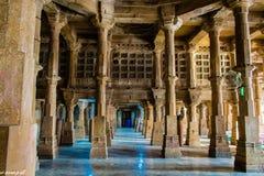Composição criativa dentro de Jama Masjid & de x28; mosque& x29; em Ahmedabad foto de stock royalty free