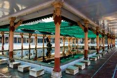 Composição criativa dentro de Jama Masjid & de x28; mosque& x29; em Ahmedabad fotografia de stock