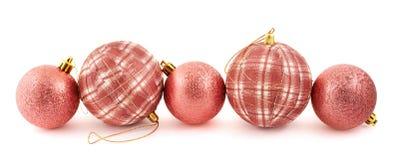 Composição da bola do Natal da decoração Foto de Stock