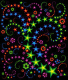 Composição da estrela ilustração royalty free