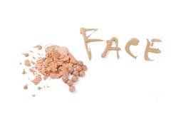 Composição da face Fotos de Stock