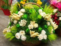 Composição da flor de Easter foto de stock