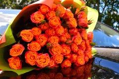 Composição da flor para o salão de beleza das flores fotos de stock royalty free