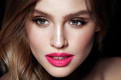 Composição da forma Mulher 'sexy' com cara da beleza imagens de stock royalty free