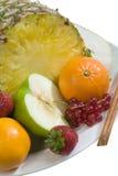 Composição da fruta e das bagas Foto de Stock