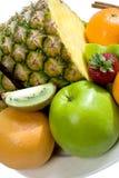 Composição da fruta e das bagas Fotos de Stock Royalty Free