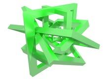 Composição da geometria Fotografia de Stock