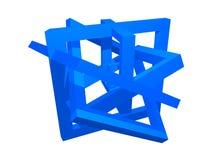 Composição da geometria Fotos de Stock