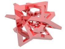 Composição da geometria Fotografia de Stock Royalty Free