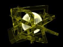 Composição da geometria Foto de Stock Royalty Free