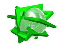 Composição da geometria Imagens de Stock