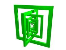 Composição da geometria Fotos de Stock Royalty Free