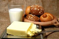 Composição da manteiga Imagens de Stock