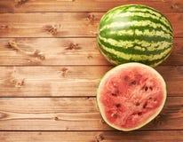 Composição da melancia Imagens de Stock