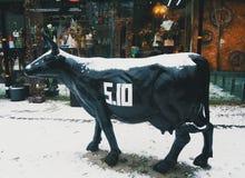 Composição da vaca do metal Foto de Stock
