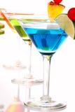 Composição das bebidas dos cocktail de Martini Imagens de Stock