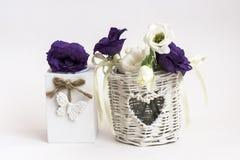 Composição das flores Fotos de Stock Royalty Free