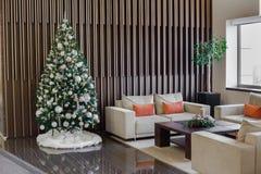 Composição das flores do Natal e de ano novo Imagens de Stock