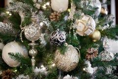 Composição das flores do Natal e de ano novo Fotografia de Stock