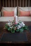 Composição das flores do Natal e de ano novo Imagem de Stock Royalty Free