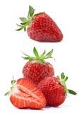 Composição das morangos Fotografia de Stock Royalty Free