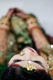 Composição das pálpebras - Índia Fotos de Stock