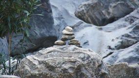 Composição das pedras Fotos de Stock Royalty Free