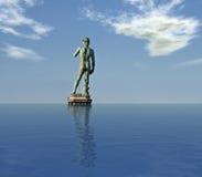 Composição de David - de Digitas de Michelangelo fotos de stock royalty free