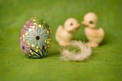 Composição de Easter fotografia de stock royalty free