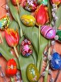 Composição de Easter imagens de stock
