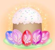 Composição de Easter ilustração royalty free