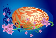 Composição de Easter Foto de Stock Royalty Free