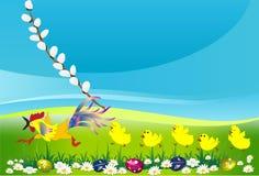 Composição de Easter Foto de Stock