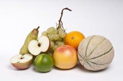 Composição de frutas misturadas Fotografia de Stock Royalty Free