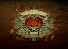 Composição de Halloween Fotografia de Stock