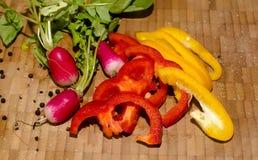 Composição de ingredientes de alimento Fotos de Stock