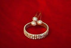 Composição de Jewelery Imagens de Stock