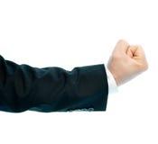 Composição de mão masculina caucasiano isolada Foto de Stock