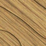 Composição de madeira da prancha 3d ilustração stock