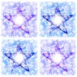 Composição de quatro estrelas Ilustração do Vetor