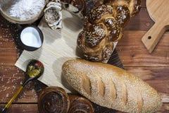 Composição de uma padaria Fotos de Stock Royalty Free