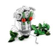 Composição decorativa verde Foto de Stock Royalty Free